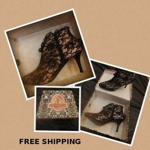 Bordello Pleaser Ankle Boot - Beauty